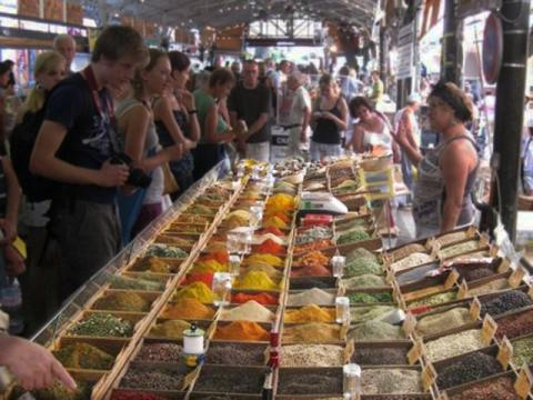 the antibes market