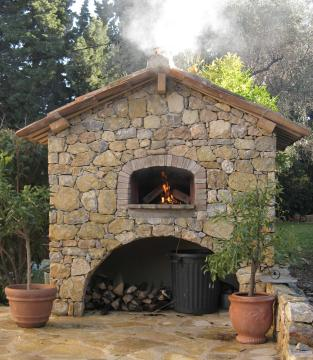 our wood oven